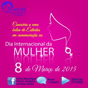 priorita dia internacional da mulher