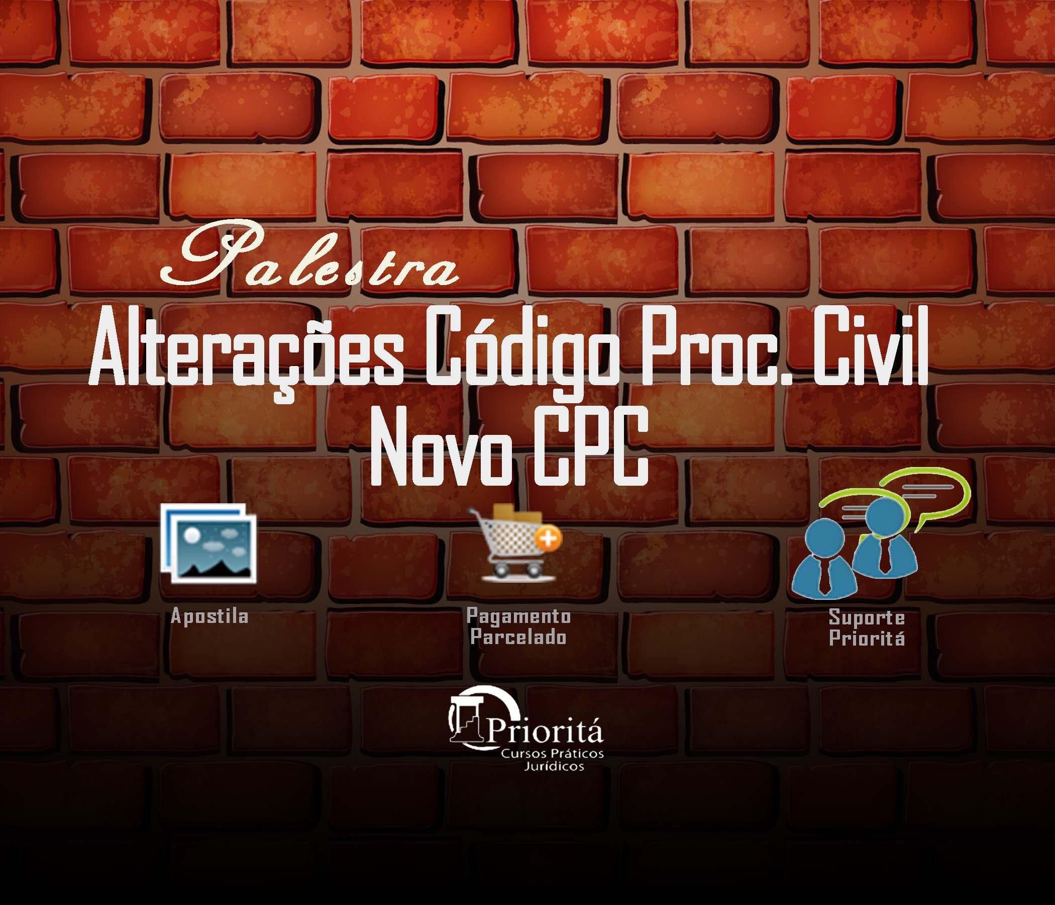 codigo processo civil novo cpc