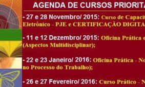Agenda de Cursos Prioritá 2015-2016