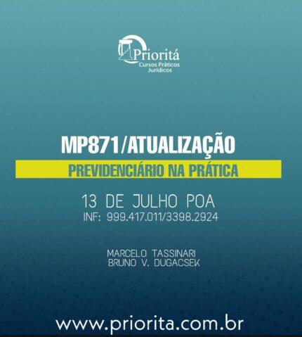 Medida Provisória 871/19